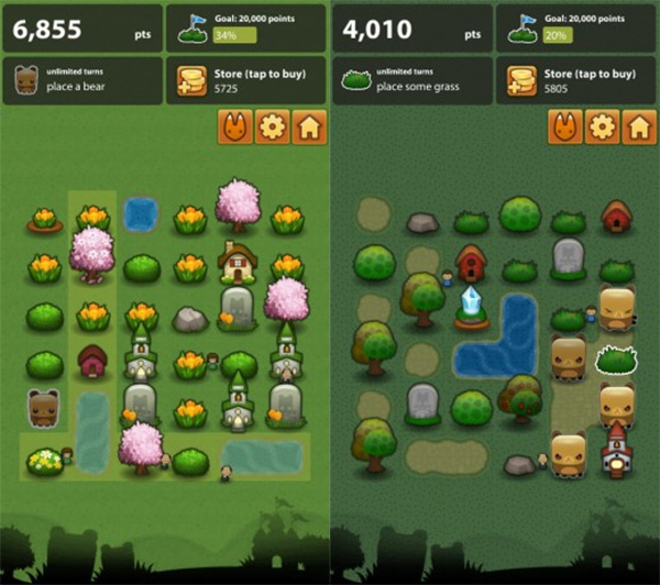 Triple Town game puzzle Android
