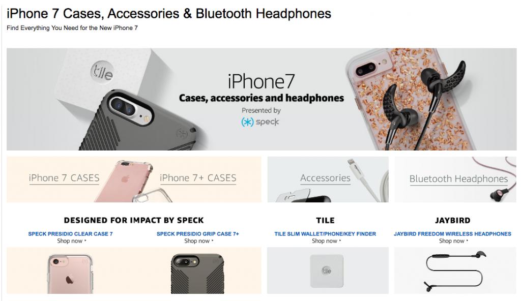 iPhone 7 leaks di Amazon