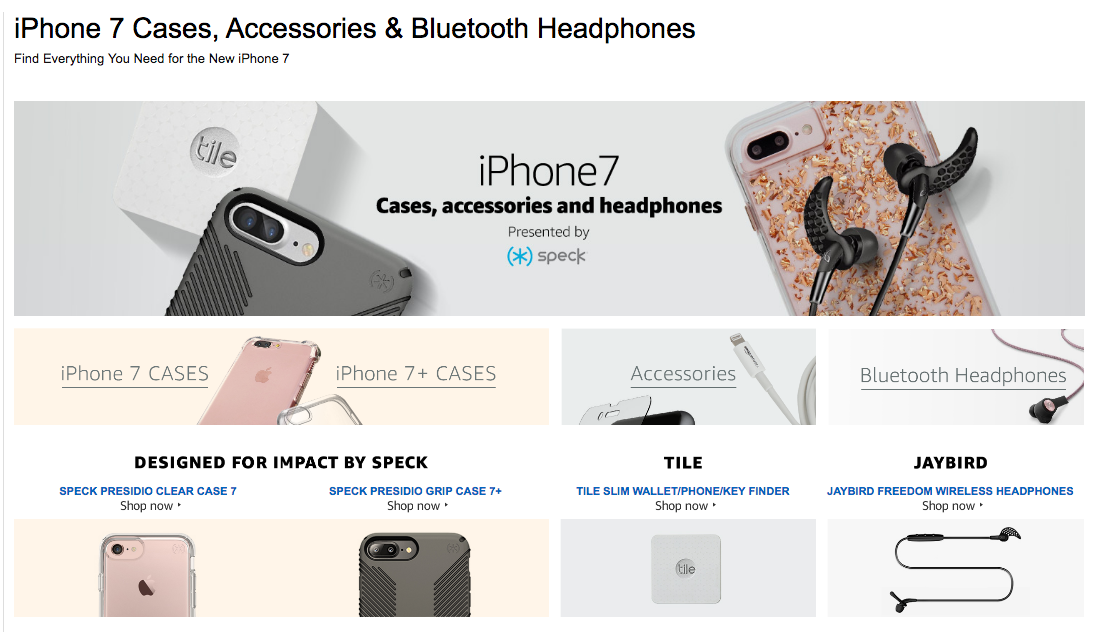 iPhone 7 leaks di Amazon