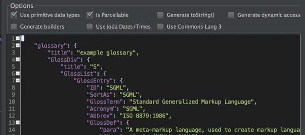 Cara Mudah Meng-Convert JSON / XML ke Java Object (POJO) di Android Studio
