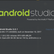 Tampilan Android Studio 3