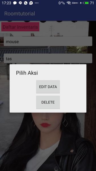 Dialog Edit Data